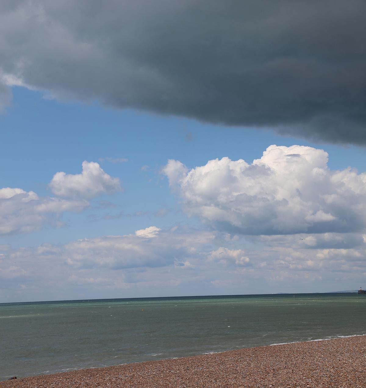 Dark clouds can pressure the creative landscape of the mind