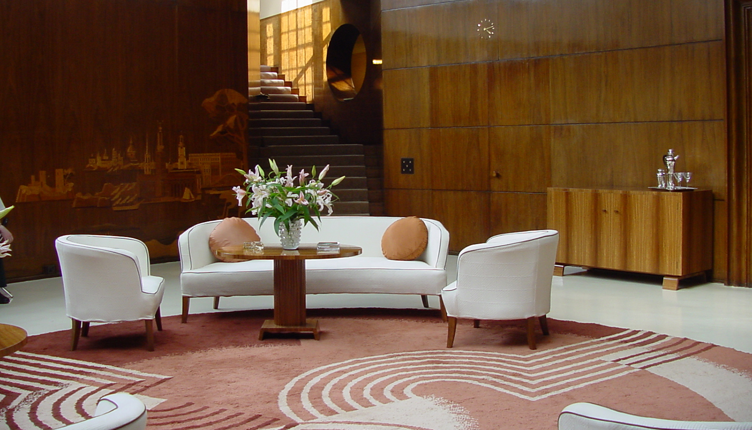One of my favourite interiors, London's Eltham Palace dates from the 1930's