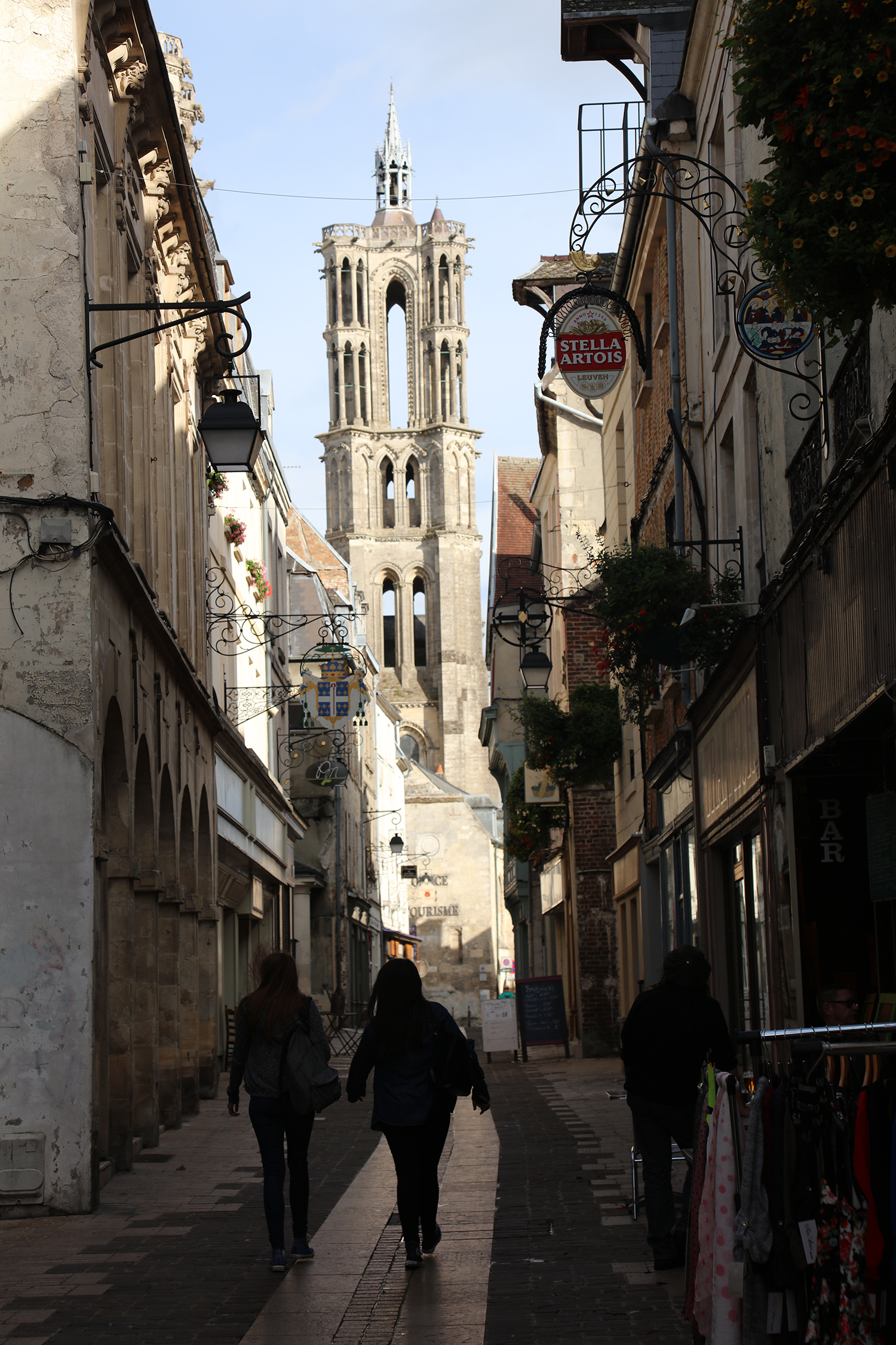 Street views show different aspects of the multi-towered cathedral