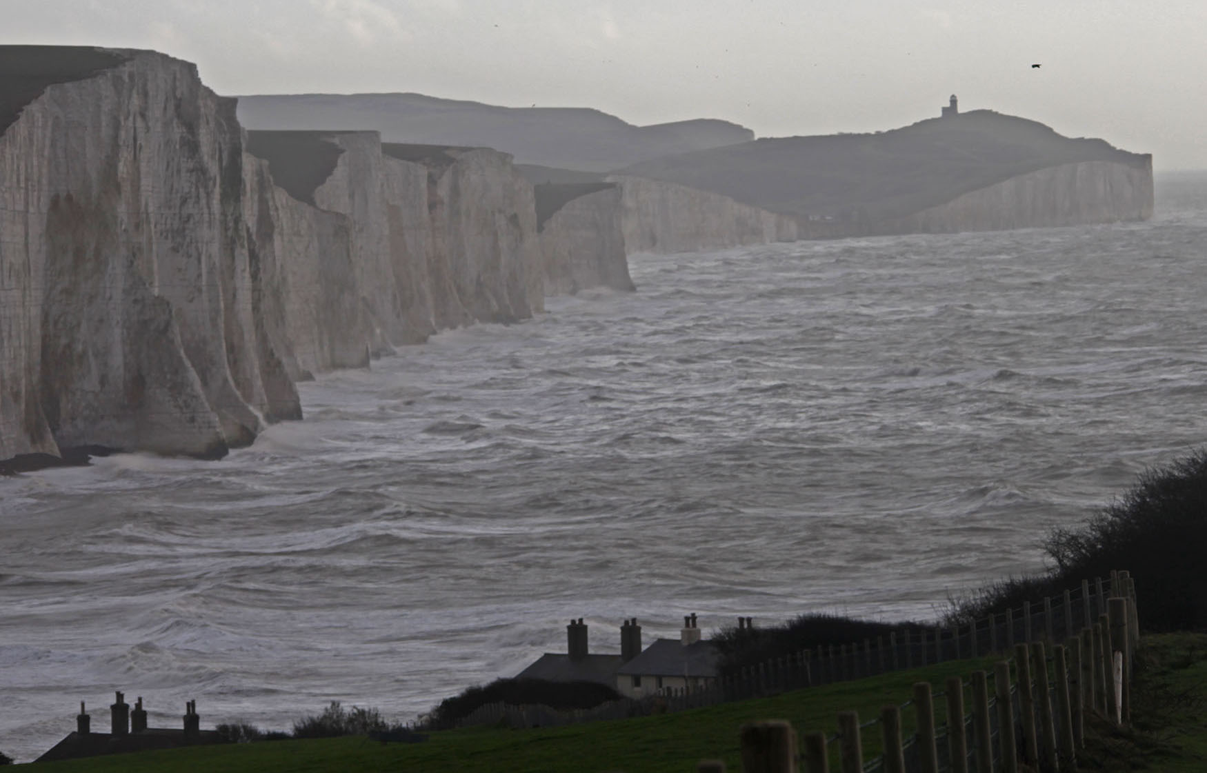 Seven Sisters being ravaged