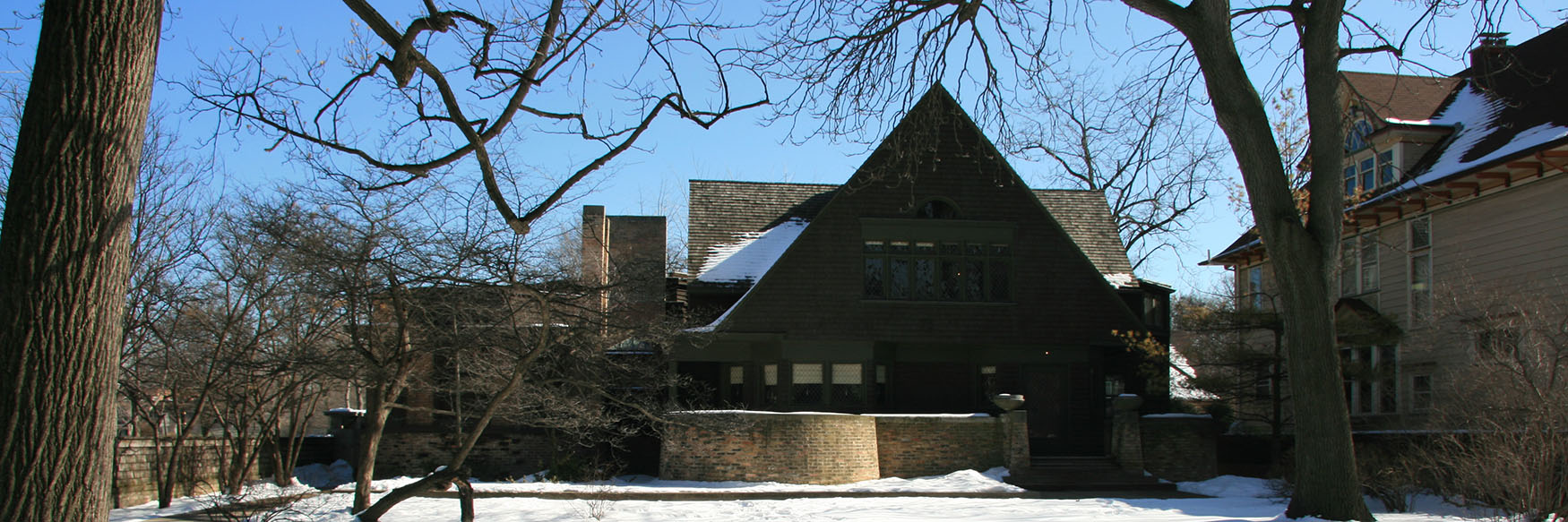 Frank Lloyd Wright's studio and home in Oak park, Chicago