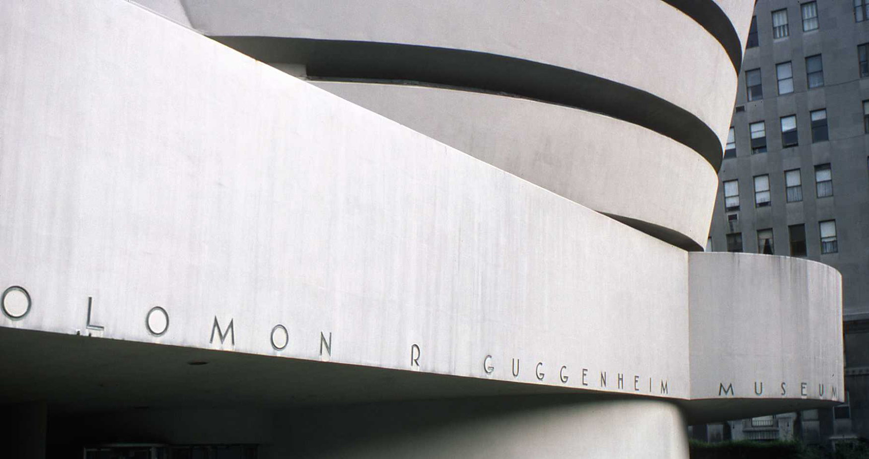 The external form of the Guggenheim is dictated by the interior design