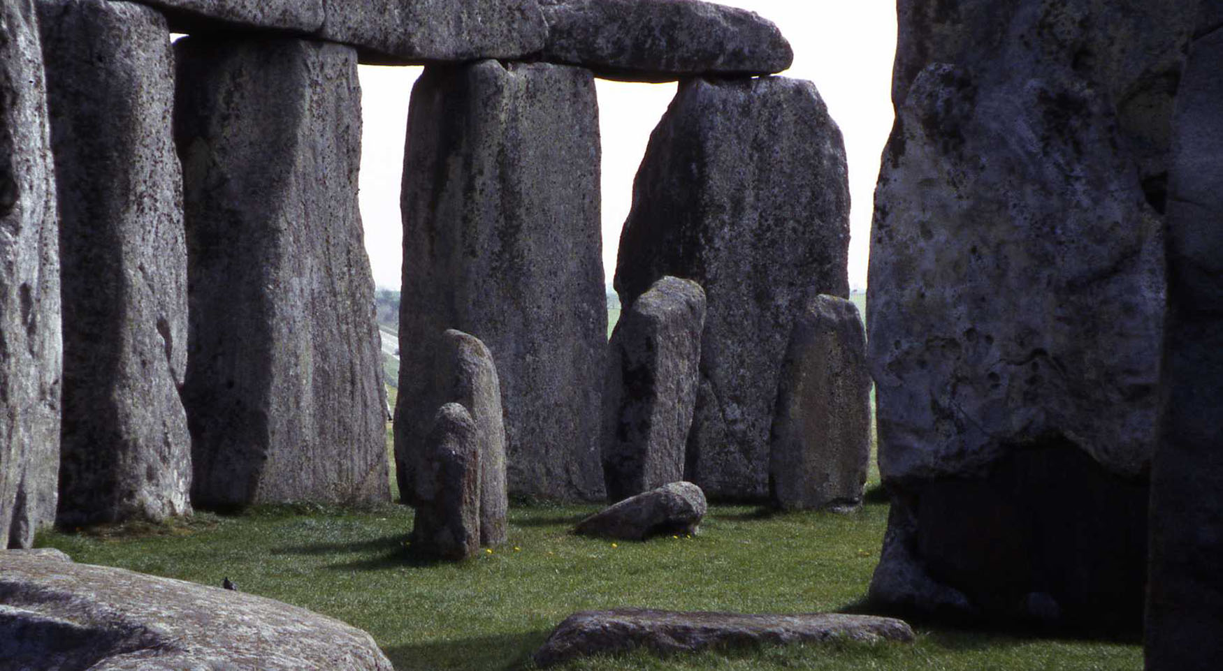 Stonehenge - ritual alignment with solstice rising and setting suns, 2000+ years old