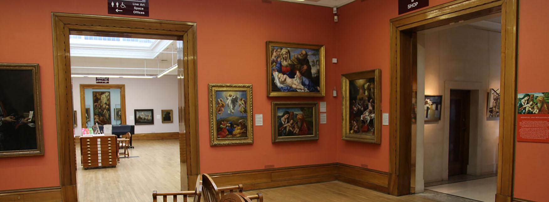 Ferens Art gallery interior