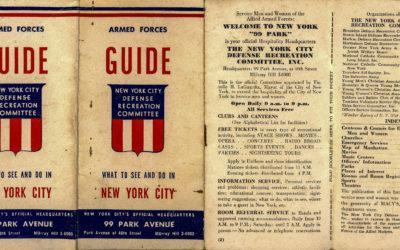 New York in 1945